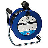 Masterplug 15m 4 Way Cable Reel