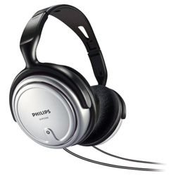 Philips SHP2500/10 Indoor Corded TV Overhead Headphones