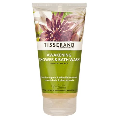 Tisserand Awakening Shower & Bath Wash (Essential Oil Rich)