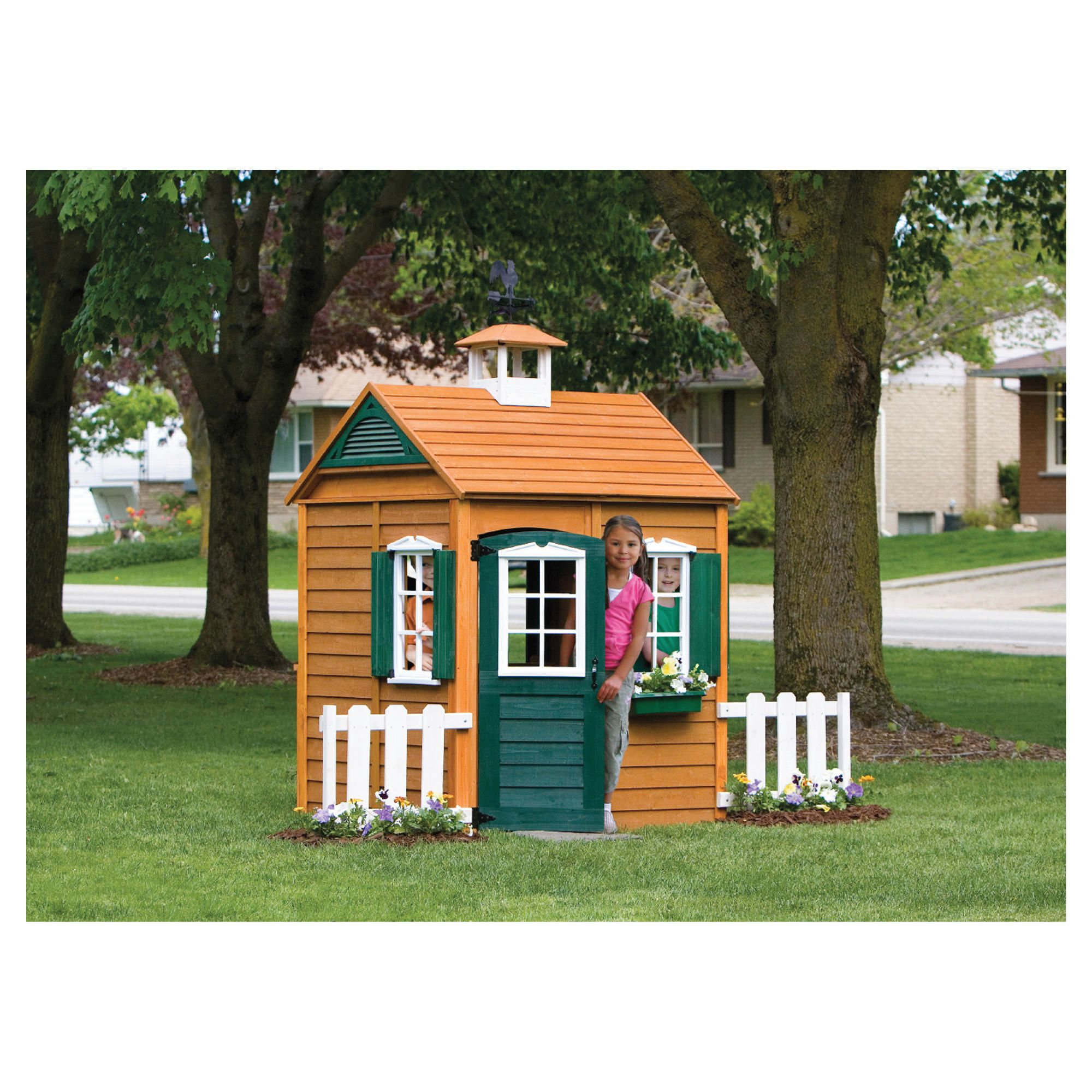 Selwood Bayberry Playhouse at Tesco Direct