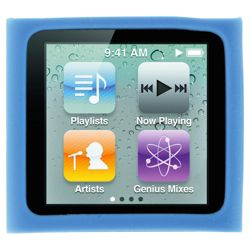 ProTec flex standard case for iPod Nano, Blue