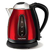 Morphy Richards 43974 Accents 3Kw Red Stainless Steel Jug Kettle
