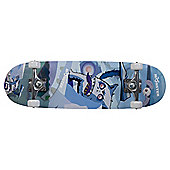 Monster Skateboard, Blue