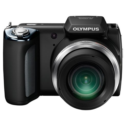 Olympus SP-620UZ Digital Camera, Black, 16MP, 21x Optical Zoom, 3.0 inch LCD Screen