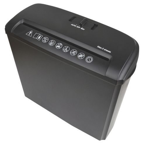Tesco Value TVSCS211 Strip Cut Shredder with 7 litre bin