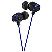 JVC Xtreme Xplosives In-Ear Canal Headphones Black HAFX101
