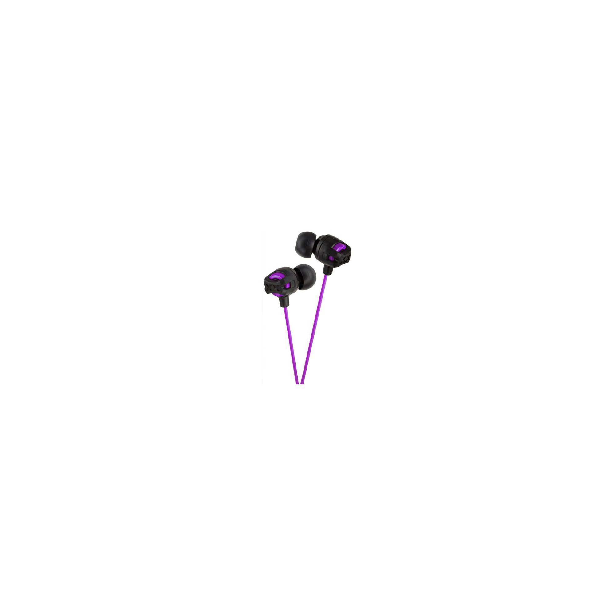 Offerta: JVC Xtreme Xplosives In-Ear Canal Headphones Violet HAFX101