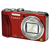 "Panasonic TZ30 Digital Camera 3"" LCD, Red"