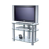 Alphason Sona TV Stand with clear glass for up to 32""