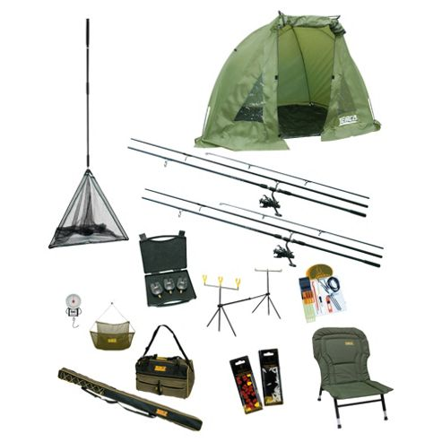 Zebco All-In-One Complete Camper Carp Fishing Set