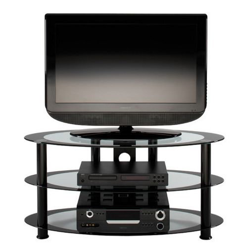 Alphason Atoll Oval TV Stand for up to 37