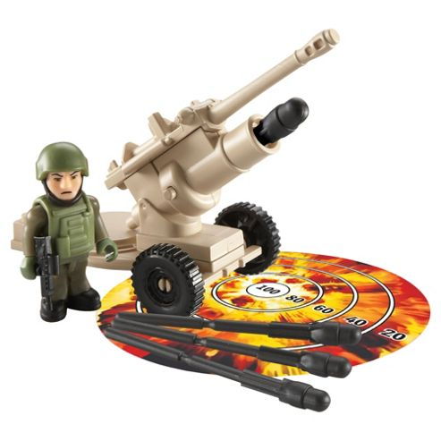 Character Building H.M Armed Forces Long Range Artillery Sets