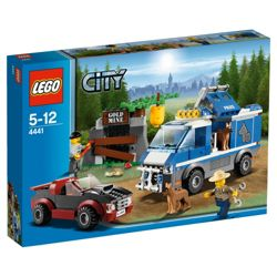 LEGO City Police Dog Van 4441