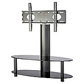 "Alphason TV Bracket with 2 Shelf Pedestal for 37 to 50"" ARB1100 - Black"