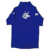 TWF UV Rash Vest Child's L Blue