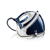 Philips GC9230/02 Steam Generator with Ceramic Plate - White/Blue