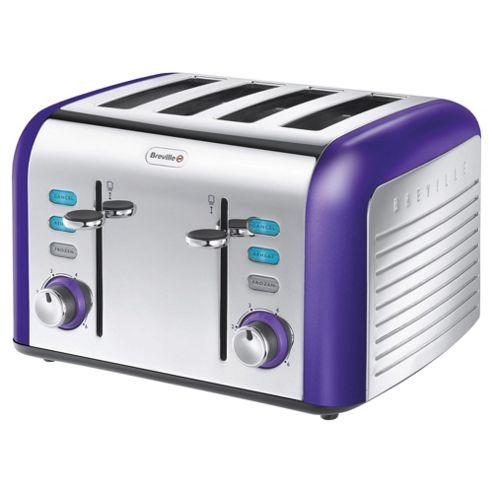 Breville Opula VTT335 4 Slice Toaster - Amethyst