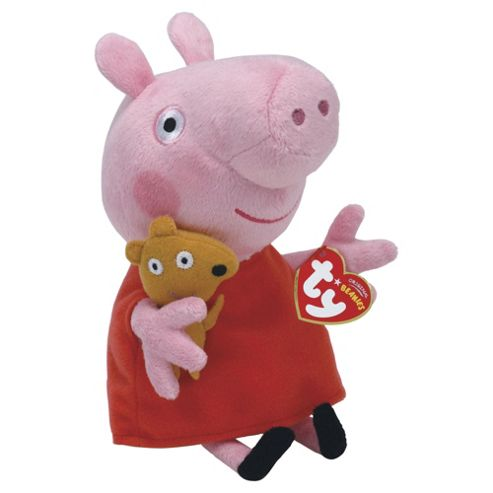 Ty Peppa Pig Mini Soft Toy
