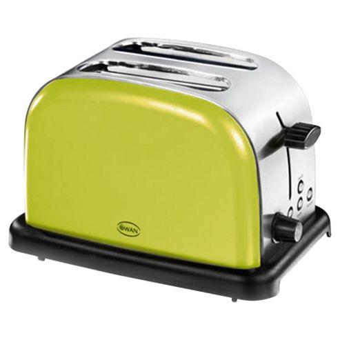 Swan ST14010LIM 2 Slice Toaster - Lime