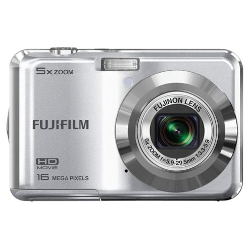 Fujifilm FinePix AX550 Digital Camera 2.7 LCD, Silver