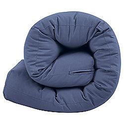 Futon Single Mattress Blue
