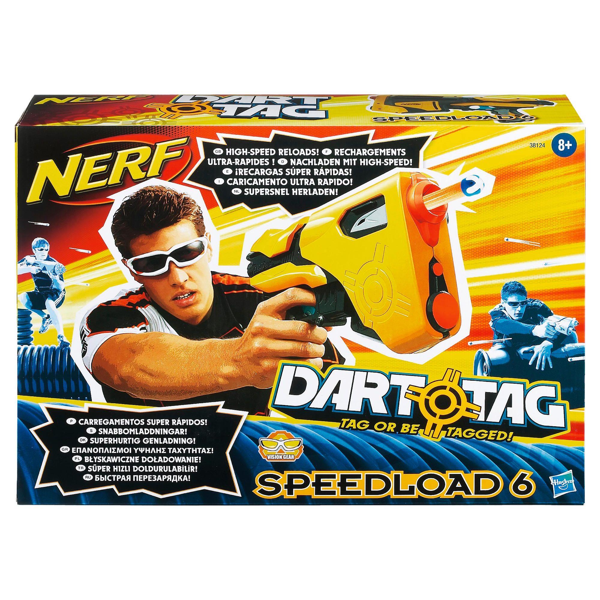 Nerf Dart Tag Speedload Dart Gun