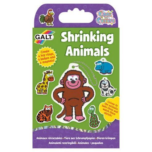 Shrinking Animals Activity Pack