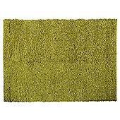 Tesco Rugs Alpine Shaggy Rug Green 160X230Cm
