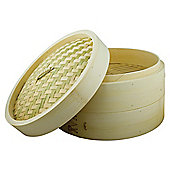"""Swift 8"""" Double Layer Bamboo Steamer"""