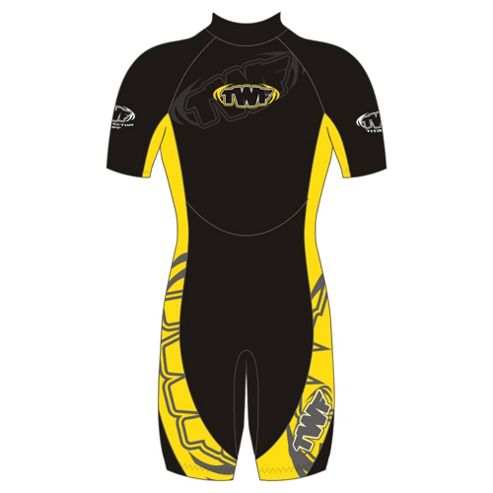 TWF Shortie Kids' 2.5mm Wetsuit age 2/3 Yellow