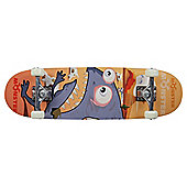 Monster Skateboard, Brown
