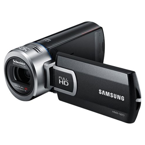 Samsung Q20 Full HD Camcorder, Black, 20x Optical Zoom, 2.7