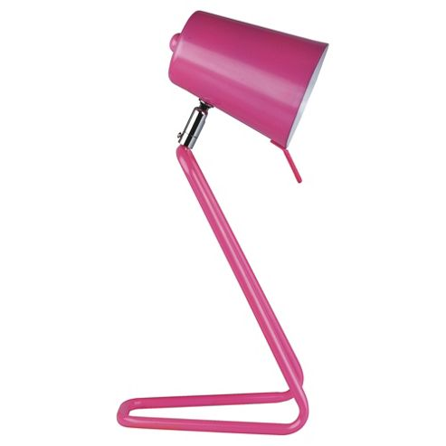 Leitmotiv 'Z' Table Lamp, Pink