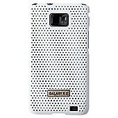Samsung Original Metal Look Case Galaxy S2 White