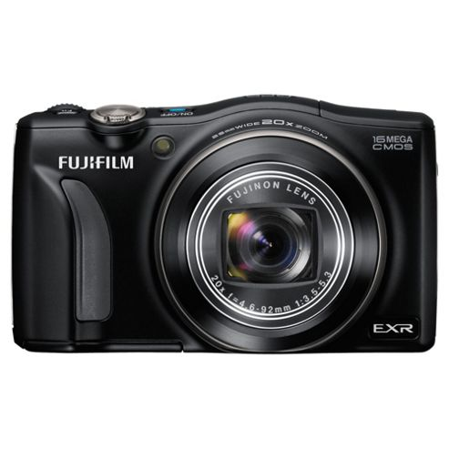 Fuji FinePix F770EXR Digital Camera Black 16MP 20x Optical Zoom 3.0