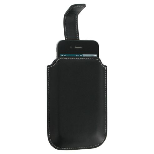 Pro-Tec Executive Smart Phone Leather Slip Case Universal Black