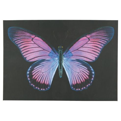 Purple Butterfly Canvas