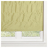 Faux Silk Lined Roman Blind 120x160cm Green
