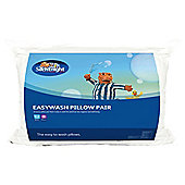 Silentnight Easy Wash Pillow 2PK