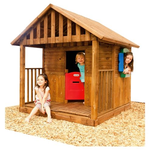 Little Tikes Kingston Wooden Playhouse