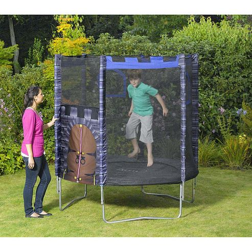 Plum Products Kings Fortress 6ft Trampoline and Enclosure