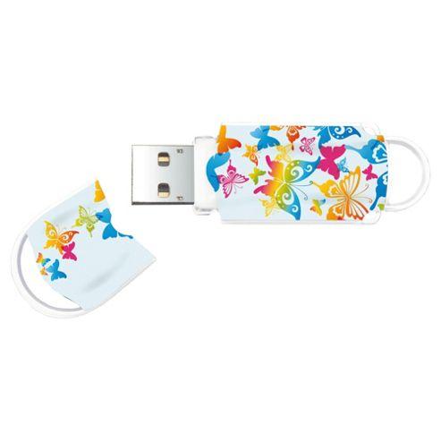 Integral butterfly USB Flash drive - 4GB