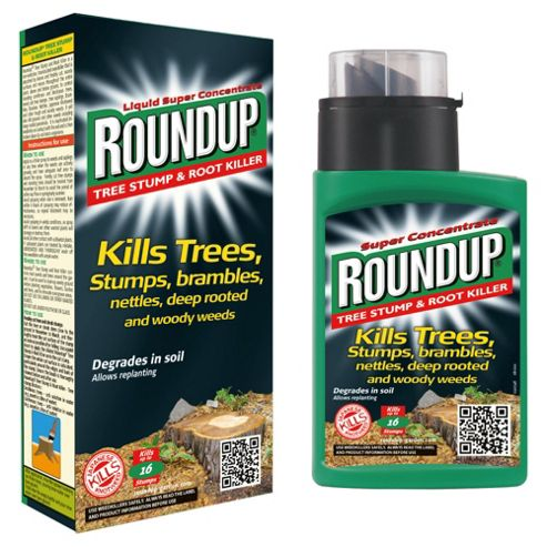 Roundup Concentrated Tree Stump & Root Killer, 250ml