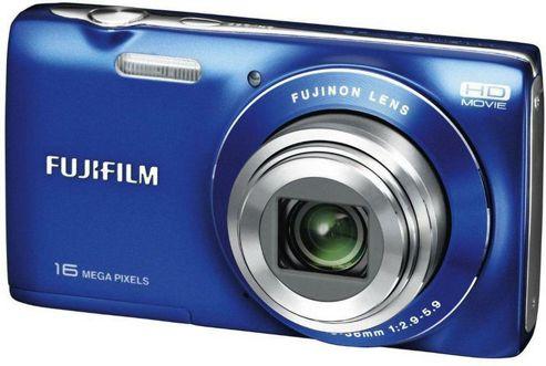 Fuji JZ200 Digital Camera, Blue, 16MP, 8x Optical Zoom, 2.7 inch LCD Screen