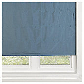 Faux Silk Lined Roman Blind 120x160cm Teal