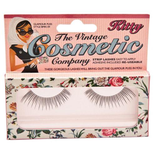 Vintage Cosmetics False Eyelashes Kitty