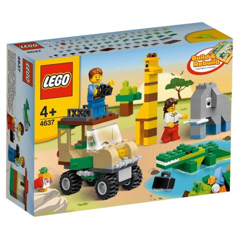 LEGO 4637 Creator Safari Building Set