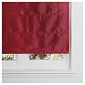 Faux Silk Lined Roman Blind 90x120cm Red