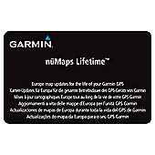 Garmin Europe nüMaps Lifetime Update Card