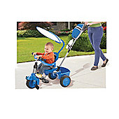 Little Tikes 3-In-1 Trike With Deluxe Accessories Cobalt Blue